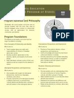 curriculum overview handout 2