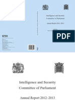 THE INTELLIGENCE AND SECURITY COMMITTEE OF PARLIAMENT ann report 2012.2013.pdf