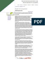 Tema 26 i CA Supply Risk Management