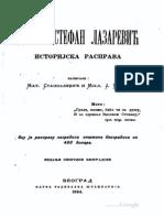 Despot Stefan Lazarevic Istorijska rasprava .pdf