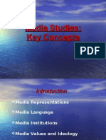Media Studies Course Overview New AQA