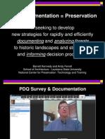Ferrell and Kennedy Spatial Video Documentation Power Point Presentation