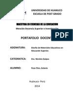 PORTAFOLIO DOCENTE