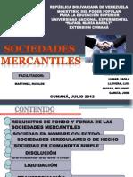 PRESENTACION SOCIEDADES MERCANTILES