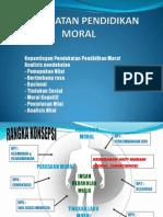 Pendekatan P&P dalam Pendidikan Moral