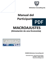 Macroajustes - Manual de Usuario