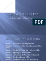 #1. Whose Bible is It.03 Version