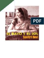 El Rayo y El Sol Savitri Devi
