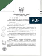 Directiva n 004 2009 Sg Minam