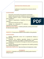 SESIONES PSICOPROFILAXIS