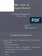 Expatriate tax Tirupur Lecture - February, 2008.pps