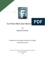 Our Friend Ethel Lilian Boole/Voynich