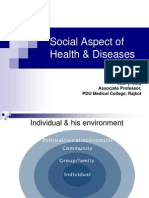 Social Aspect of Health & Diseases