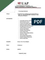 Prueba de Macroinvertebrados-grupal