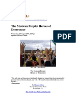 The Mexican People - Heroes of Democracy (en)