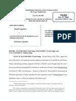 Patrick v. Cleveland Scene et al, US Appeals Court reaffirms lower court ruling, 12/21/09