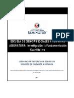 Investigacion 1 Fundamentacion Cuantitativa Escuela Arquitectura