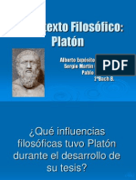 El Contexto Filos+¦fico. PLATON(revisado)