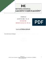 La Lateralidad - Jimenez - Art