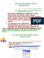 o/o Gm,Data Network Circle Bangalore