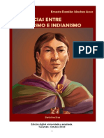DIFERENCIAS ENTRE  INDIGENISMO E INDIANISMO- Ernesto Damián Sánchez Ance