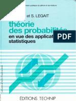 Probabilites Et Statistiques
