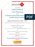 Network FP Seminar on Seven Stages of Money Maturity & EVOKE Model of Life Planning