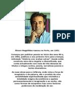 Álvaro Magalhães nasceu no Porto
