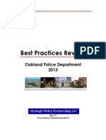 Best Practices Report for  Oakland Police Department.pdf