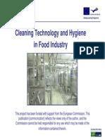 Cleaning Techonolgy Hygiene in Food industry.pdf