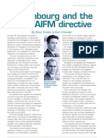 Luxembourg and the AIFM Directive