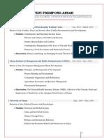 CV of Frempong-Ansah Fiifi