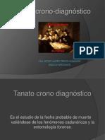 TANATO CRONO DIAGNOSTICO