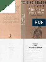 Diccionario de Mitologia Griega y Romana.torto