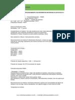 Indicações para o processamento de diferentes materias plasticos