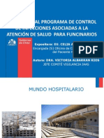 Induccion Programa Control de Infecciones Asociadas a La Atencion Salud Para Funcionarios