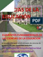 Ciencias de La Educacion