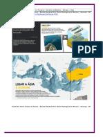 Geografia - Túnel Submerso ligando a Turquia Européia e Asiática