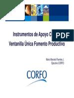 Instrumentos de Apoyo Corfo.