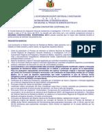 Segunda Convocatoria Proceso Admision 2013 2