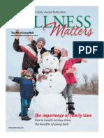 Wellness Matters November December 2013