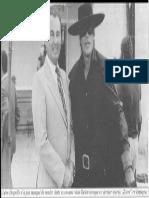 Degrelle Et Delon en Zorro