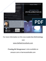 Creating the Intrapreneur ~ The Search for Leadership Excellence