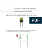 Investigatory Project On LDR | Electrical Resistance And Conductance ...