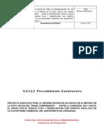 2.- Procedimiento Constructivo