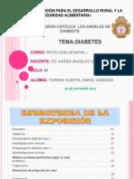 PATOLOGÍA GENERAL I - ENTREGA DE PRODUCTO II -DIABETES