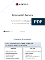 EmcienMatch Sales Effectiveness Overview