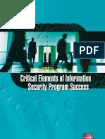 Information Security Program Success
