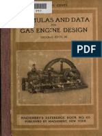 Formulas and constants for gas engine design .. (1910)