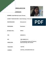 Curriculum de Marinely